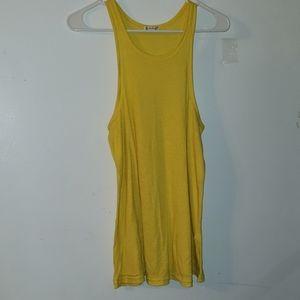 Bright Yellow - •FP Intimately•   Ribbed Tank